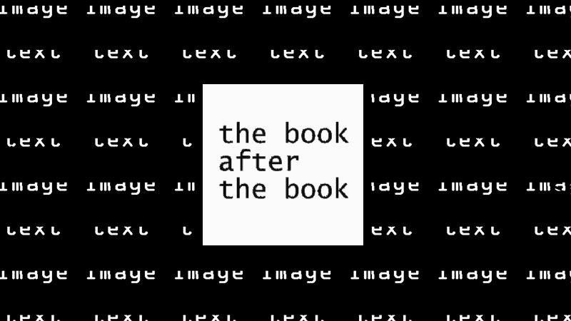 gallery image of The Book after the Book