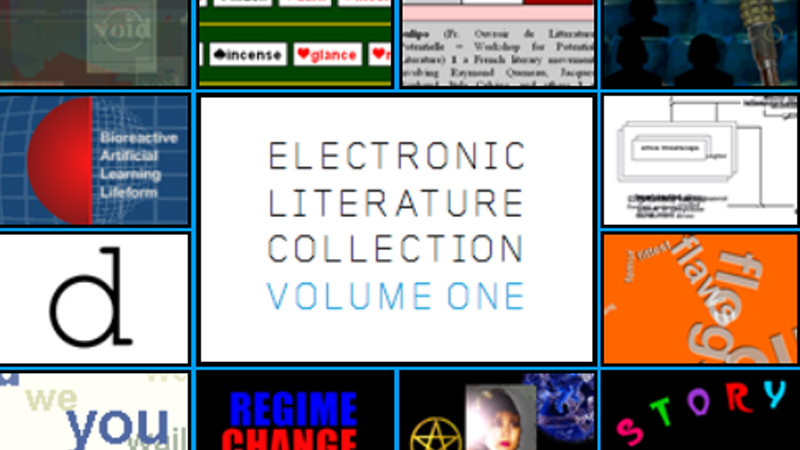 gallery image of Electronic Literature Collection, Volume One