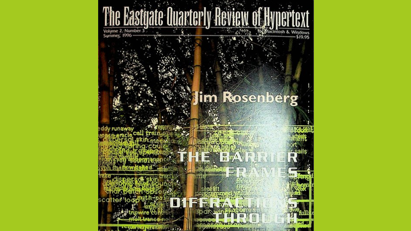 gallery image of The Eastgate Quarterly Review of Hypertext, Volume 2, Number 3